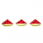 میوه تزئینی پرانی طرح قاچ هندوانه مدل 5011 بسته 3 عددی