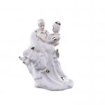 مجسمه پرانی مدل عروس و داماد کد 328