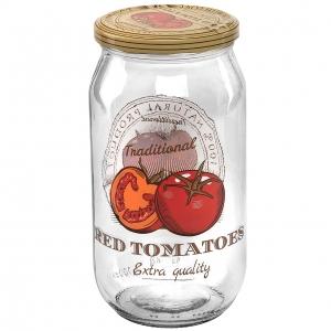 ست بانکه 4 پارچه هروین طرح گوجه فرنگی مدل 10151