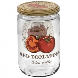 ست بانکه 4 پارچه هروین طرح گوجه فرنگی مدل 20151