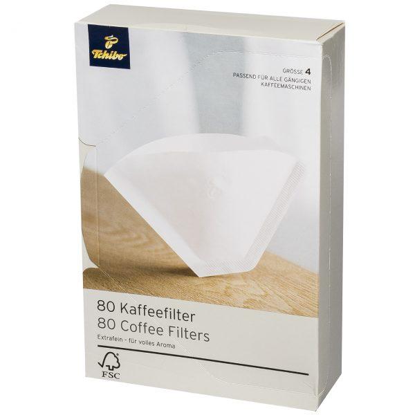 فیلتر قهوه Tchibo کد 5107 - بسته 80 عددی