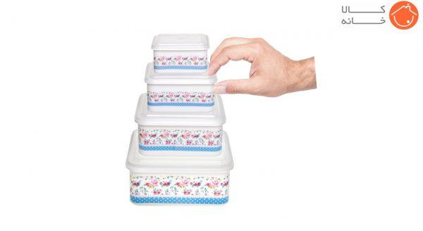 ظرف نگهدارنده مربع فرش کیپس مدل 5003 - بسته 4 عددی (11)