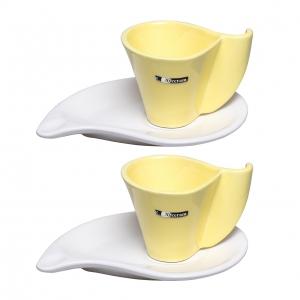 ست فنجان نعلبکی 4 پارچه آی سرام مدل 012