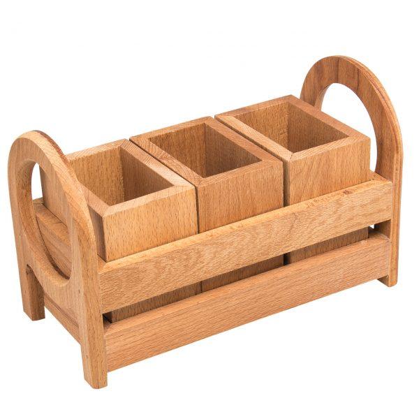جا قاشقی چوبی مدل 1-012