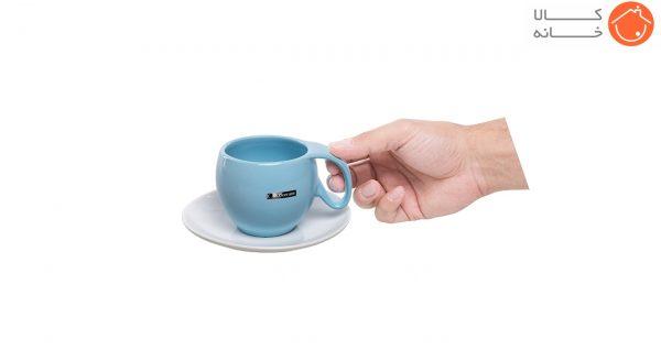 ست فنجان و نعلبکی آی سرام طرح ریتا کد 4026 (12)