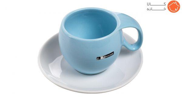 ست فنجان و نعلبکی آی سرام طرح ریتا کد 4026 (9)