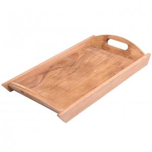 سینی چوبی دسته دار مدل 1-011