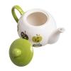 قوری چینی طرح سیب سبز کد 35304
