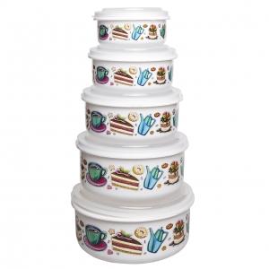 ظروف نگهدارنده فرش کیپس طرح کیک