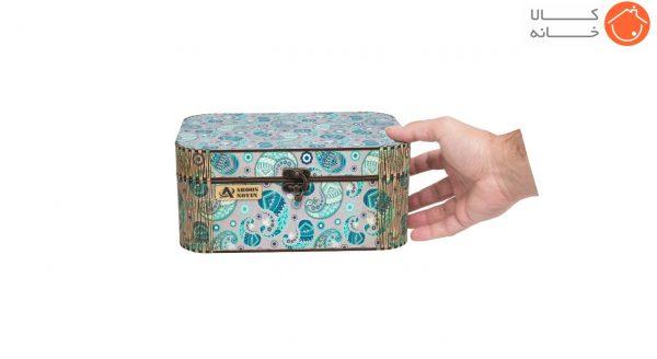 جعبه لوازم خیاطی عروس نوین کد 385