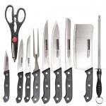 سرویس چاقوی آشپزخانه 10 پارچه کد 20105
