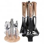 سرویس کفگیرملاقه و ابزار آشپزخانه 14 پارچه پرنس کد 511001