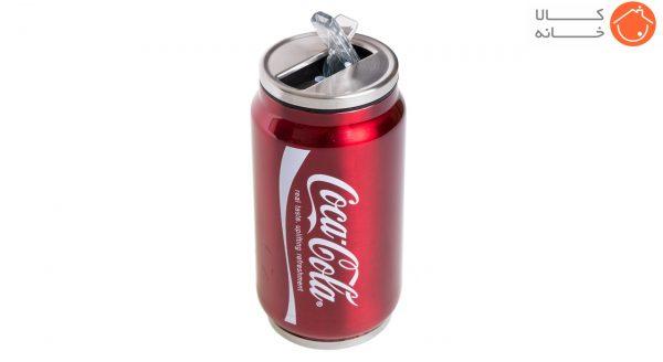 فلاسک استیل طرح کوکاکولا کد 16102 - ظرفیت 300 میلی لیتر