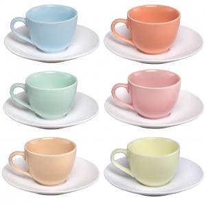 سرویس چای خوری رنگی 12 پارچه رومز کد 1-8041