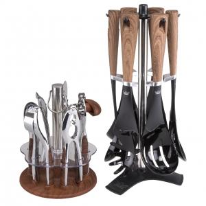 سرویس کفگیرملاقه و ابزار آشپزخانه 14 پارچه پرنس کد 511002