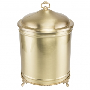 سطل زباله برنجی ایران کادو کد 620
