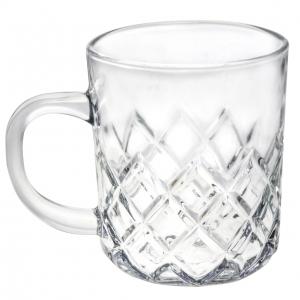 لیوان شیشه ای لرد کرافت کد 1-4 - بسته 6 عددی