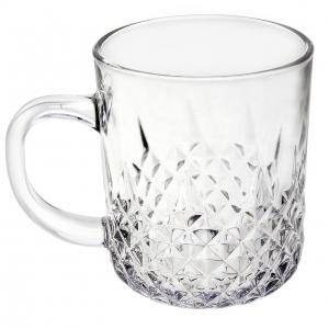لیوان شیشه ای لرد کرافت کد 4-4 - بسته 6 عددی