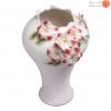 گلدان چینی گل برجسته کد 10121