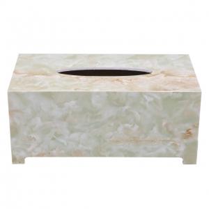 جا دستمال کاغذی طرح سنگ گلدن هاوس کد 22003P