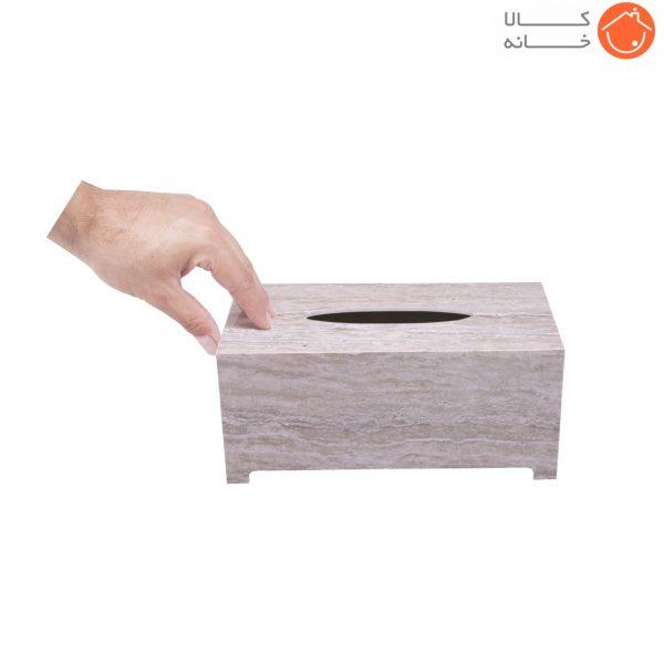جا دستمال کاغذی طرح سنگ گلدن هاوس کد 22003R