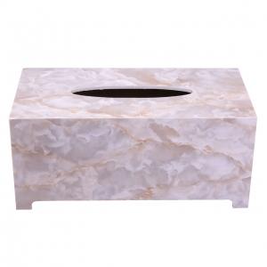 جا دستمال کاغذی طرح سنگ گلدن هاوس کد 22003Y