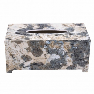 جعبه دستمال کاغذی طرح سنگ گلدن هاوس کد 22003Ai