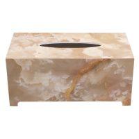 جعبه دستمال کاغذی طرح سنگ گلدن هاوس کد 22003B