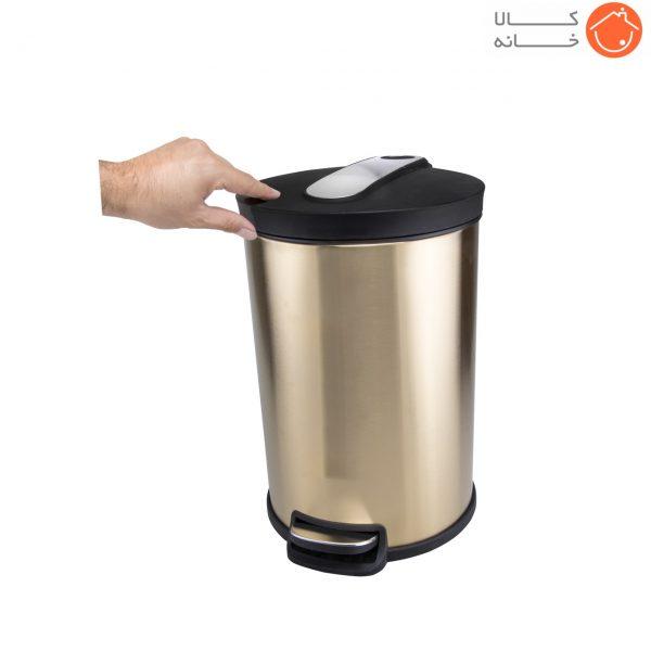 سطل زباله پدالی گالکسی کد 7878 گنجایش 12 لیتر