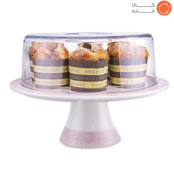 کیک خوری پایه دار هوم کینگ کد 6009