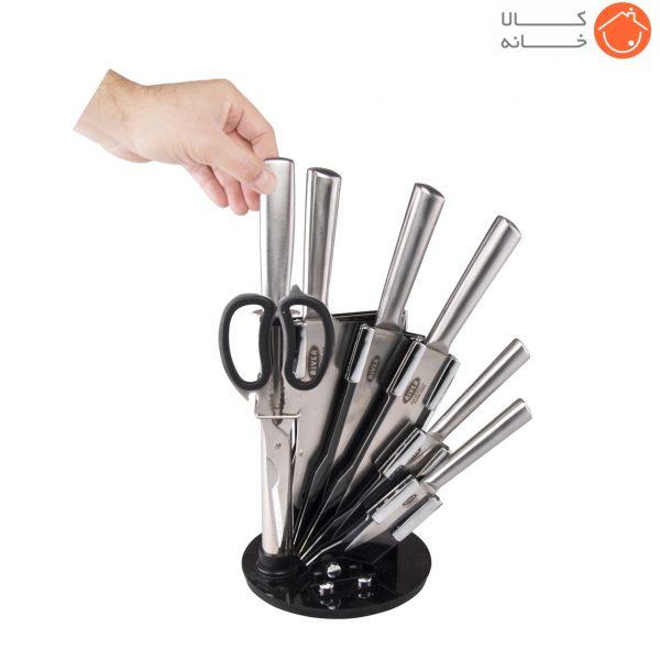 سرویس چاقو آشپزخانه ریور کد 8436