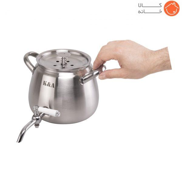 کتری شیردار سوزان 3 لیتر کد 2051 (1)