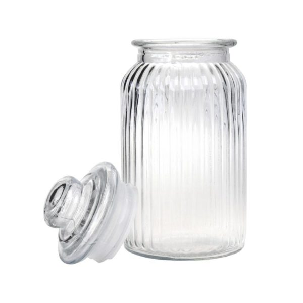 بانکه شیشه ای سایز بزرگ کد 4301