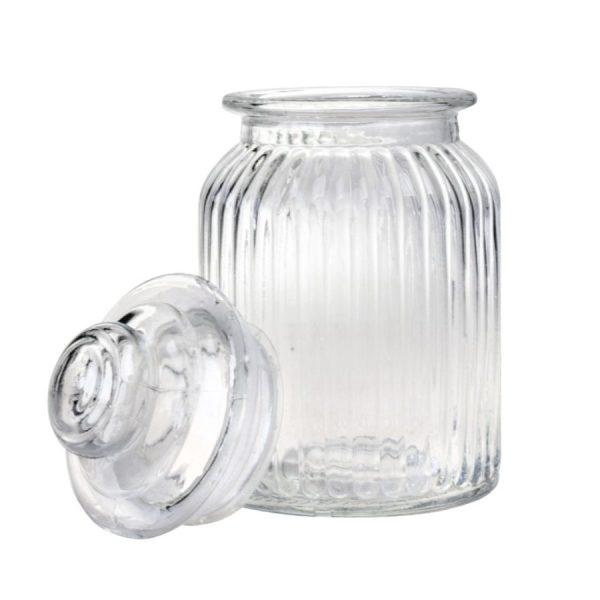 بانکه شیشه ای سایز متوسط کد 4302