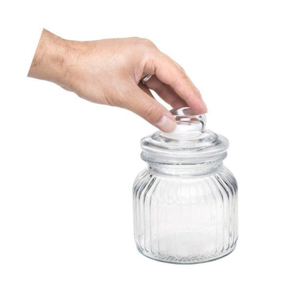 بانکه شیشه ای سایز کوچک کد 4303